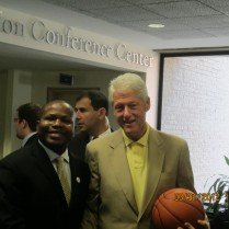 Bill Clinton & I