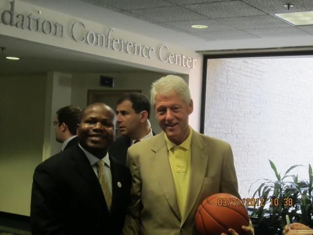 Bill Clinton & I
