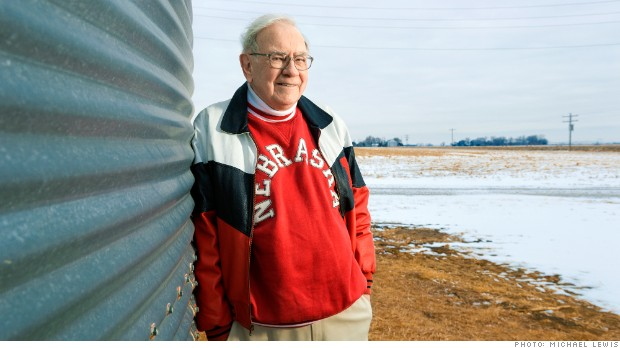 The author visiting (for just the second time) the 400-acre farm near Tekamah, Neb., that he bought in 1986 for $280,000